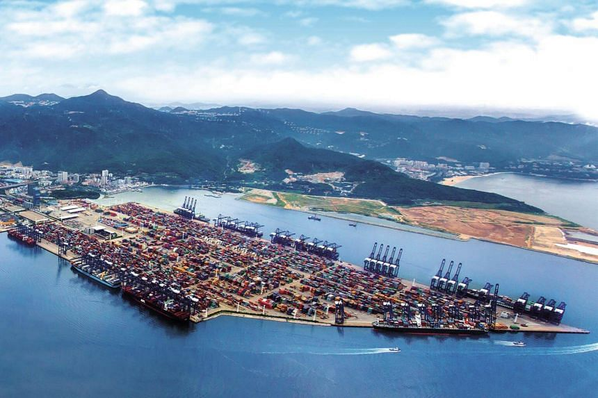 """With a depth alongside of 17.6 metres, and the deployment of eight Super Post-Panamax quay cranes (""""SPP QCs""""), the Yantian Phase III Expansion South Berth is capable of handling the world's largest container vessels around the clock."""