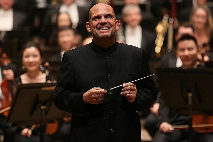 After ending his term at the Dallas Symphony Orchestra, conductor Jaap van Zweden (above) will become music director at the New York Philharmonic next year.