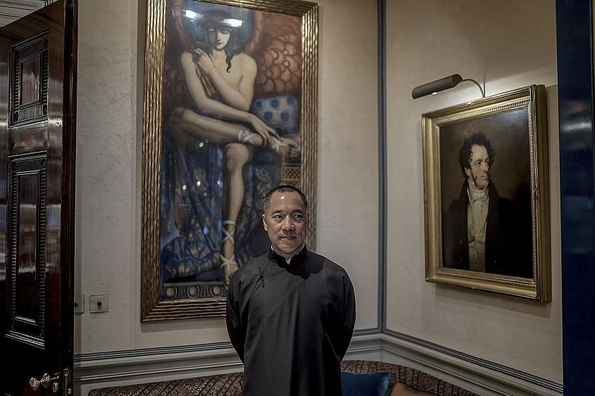 Mr Guo Wengui, seen here in London in March last year, has made accusations of alleged corruption involving family members of top-ranking Chinese Communist Party officials.