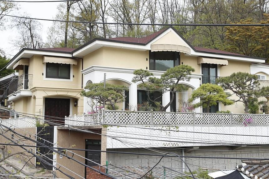 The new house of ousted former South Korean president Park Geun Hye is in Naegokdong, in southern Seoul.