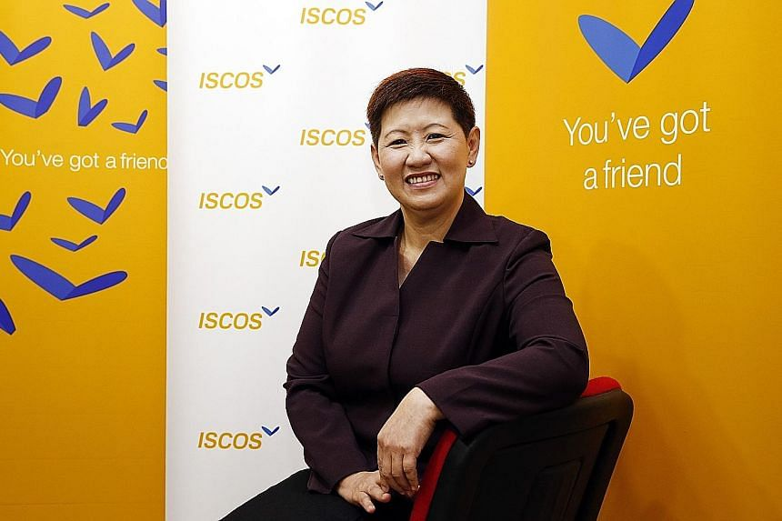 Iscos executive director Lisa Lim grew up in a poor family, so she can empathise with those in similar situations. The former prison superintendent and mother considers the children under Iscos' Fairy Godparent Programme, which pairs children of ex-o