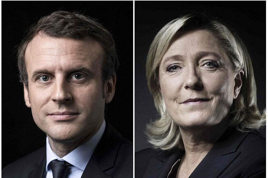 The top aide of French presidential candidate Marine Le Pen (right) has criticised her rival Emmanuel Macron (left) as someone who was arrogant and unpatriotic.