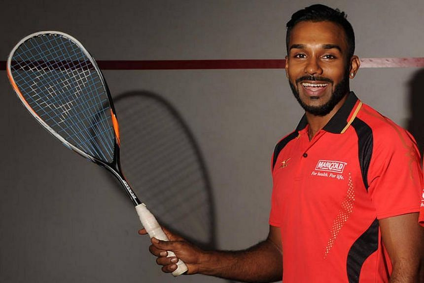 National player Vivian Rhamanan clinched the premier men's category at the National Squash Championships on Sunday (April 24).