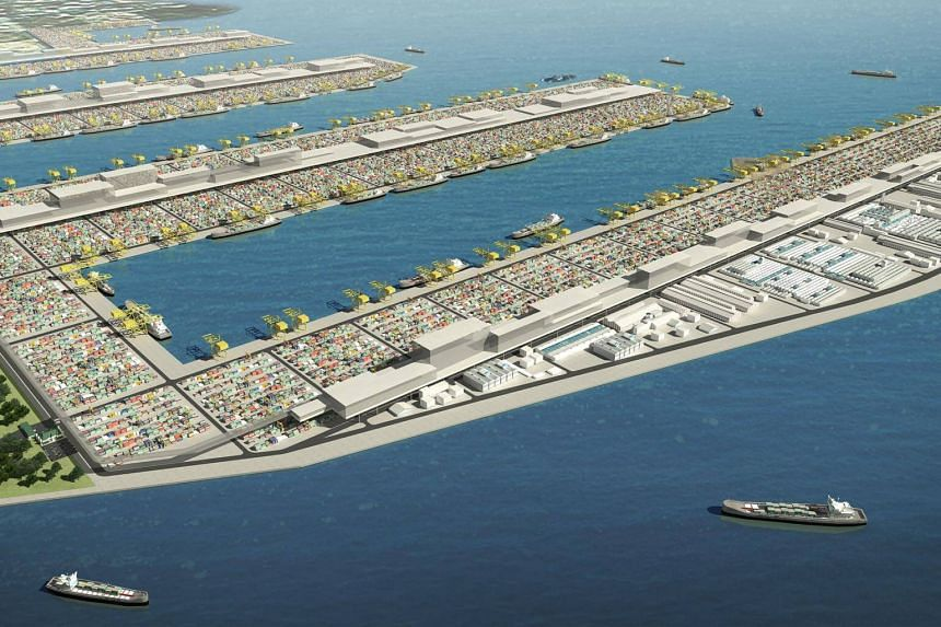 Plans for the Tuas Port are progressing as scheduled.