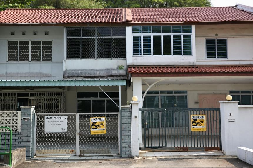 Other landed houses at Merpati Road.