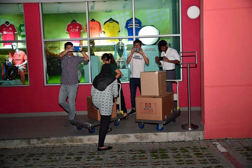 Last Thursday, the Commercial Affairs Department (CAD) conducted raids at the FAS office at Jalan Besar Stadium, and at the clubhouses of Tiong Bahru, Hougang United and Woodlands Wellington.