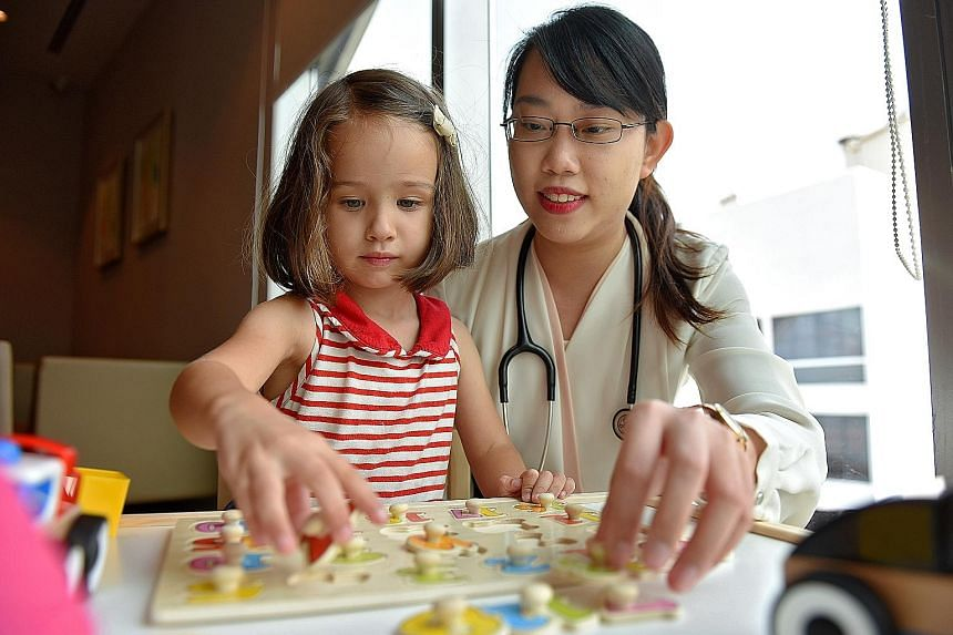 Dr Christelle Tan says she's a guardian to children, with a magical solution for every situation, whether it's medication or toys.