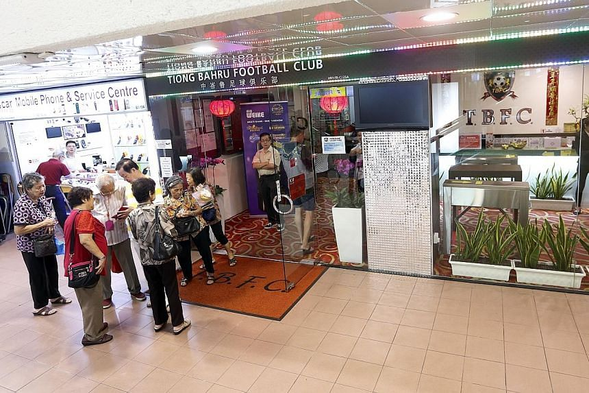 Tiong Bahru Football Club posted annual takings of $36.8 million last year from its 29 jackpot machines - more than the FAS' budget in the same period.