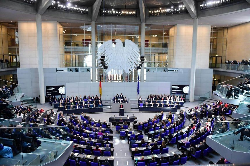 A document put forward to Germany's Bundestag sets out the terms for future access to the single market once Britain exits the EU.
