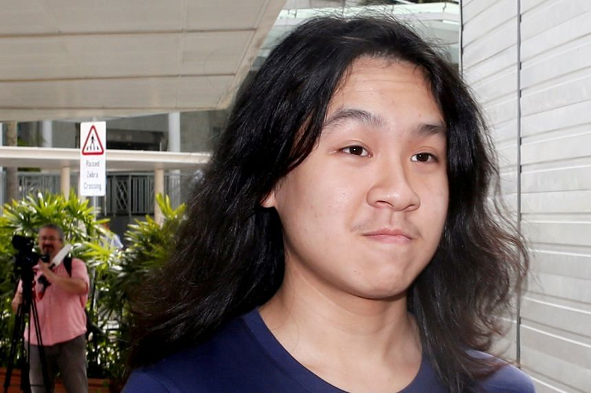 Amos Yee arrives at the State Courts in Singapore on Sept 28, 2016.