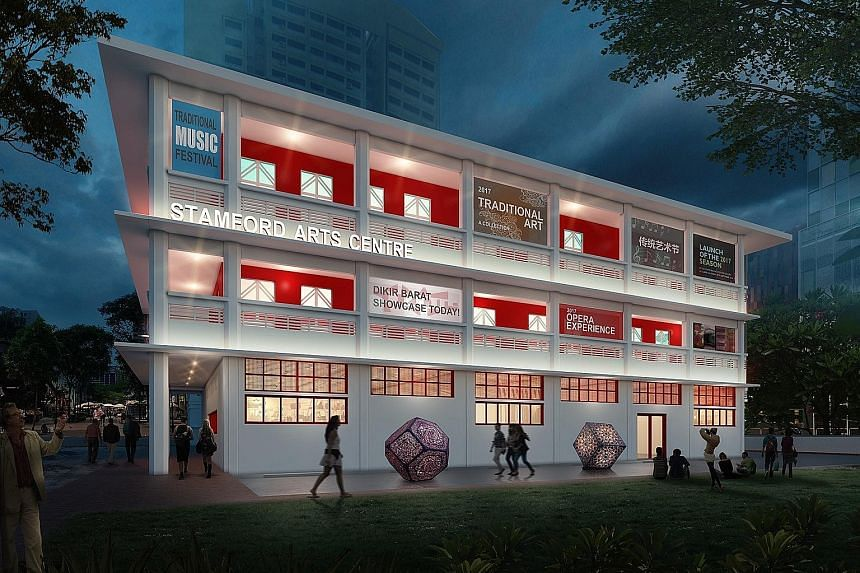 Artist's impression of the new Stamford Arts Centre in Waterloo Street.