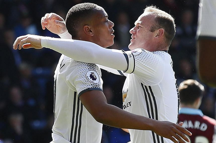 Anthony Martial and Wayne Rooney, both of whom scored against Burnley last week, may face more competition at Old Trafford if Manchester United beat the clubs chasing the signature of Atletico Madrid's French forward Antoine Griezmann. Jose Mourinho