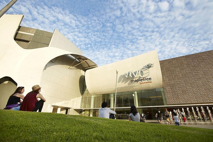 The VivoCity mall, one of five properties that make up MCT's portfolio, continued to do well, posting 8.9 per cent year-on-year growth in shopper traffic and a 0.4 per cent rise in tenant sales in the fourth quarter.