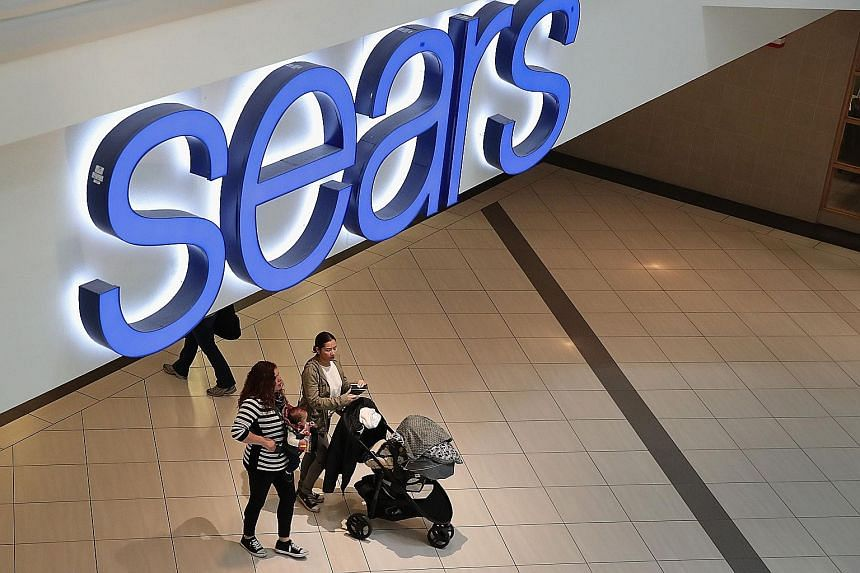 """American retail giant Sears acknowledged in a filing last month that there is """"substantial doubt"""" about its future."""