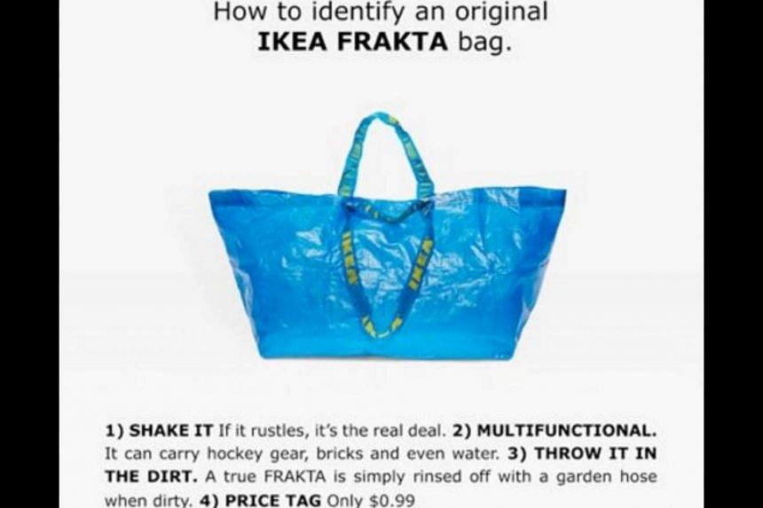 Ikea has issued a guide on how to identify its 90 cents tote bag.