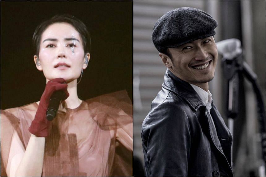 Faye Wong and Nicholas Tse got back together in 2014, 11 years after going their separate ways.