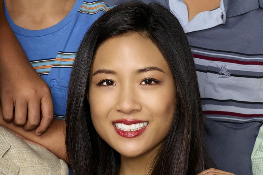 Constance Wu, the breakout star of the US sitcom Fresh Off The Boat, plays Nick's girlfriend, New Yorker Rachel Chu.