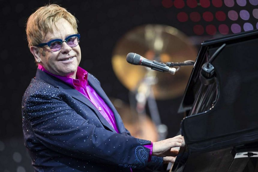Elton John spent two nights in intensive care in Britain and is resting at home after being discharged.