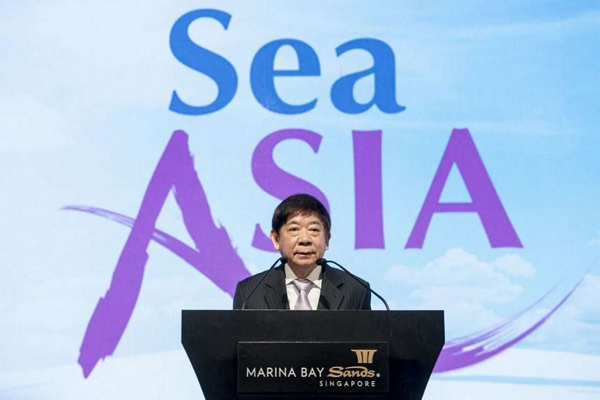 Coordinating Minister for Infrastructure Khaw Boon Wan noted the lines between shipping, e-commerce and logistics are blurring.