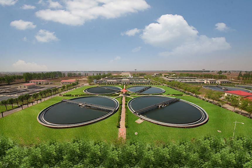Membrane bioreactor for Municipal Wastewater Treatment in Liaoyang city in China's Liaoning province.