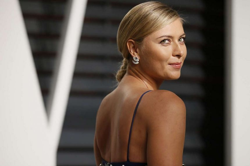 Maria Sharapova no longer has a ranking and is dependent on wild cards to compete at WTA events.