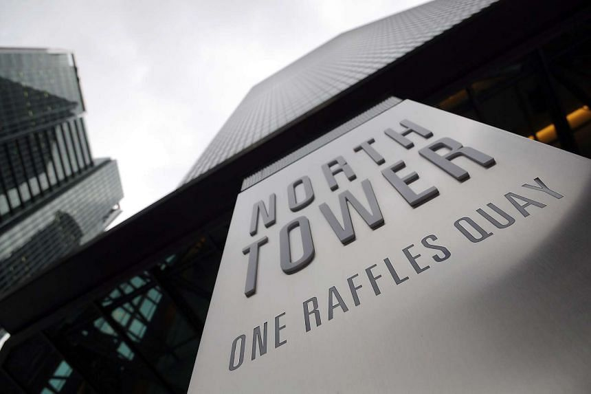 The committed occupancy for One Raffles Quay was 100 per cent.