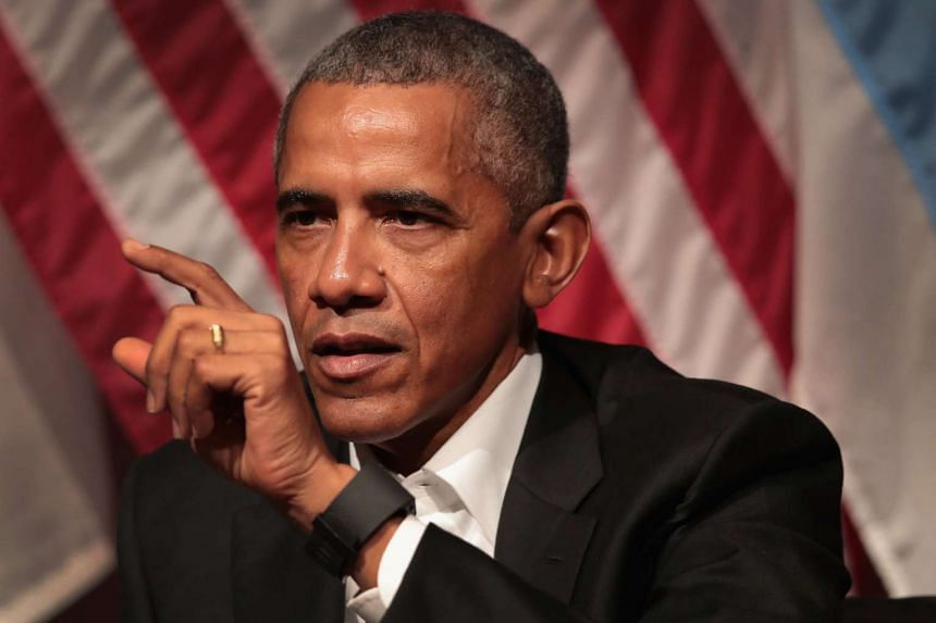 Mr Barack Obama has decided - for now, at least - to steer clear of any criticism of his successor.