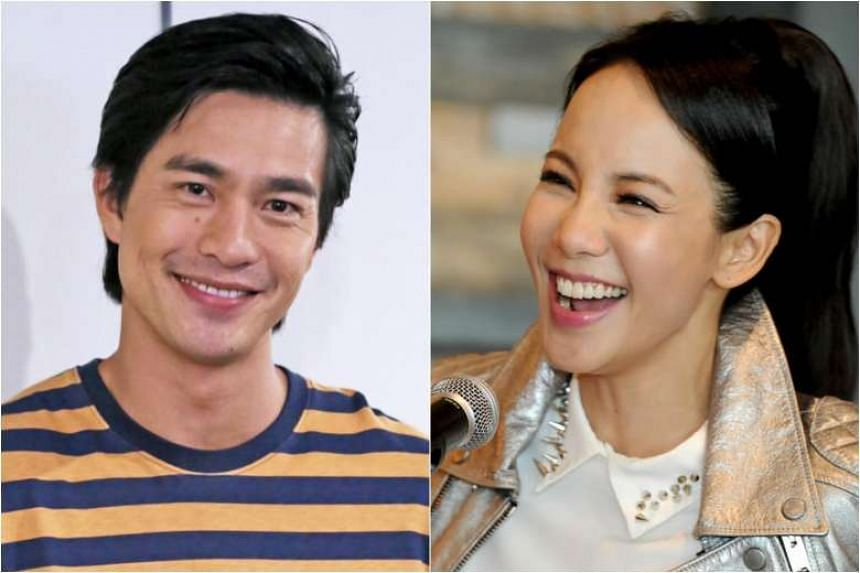Singaporean actors Pierre Png (left), Fiona Xie (right) and Tan Kheng Hua are part of the cast.