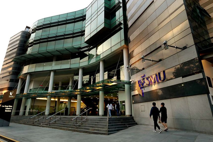 The Singapore Management University campus at Bras Basah.