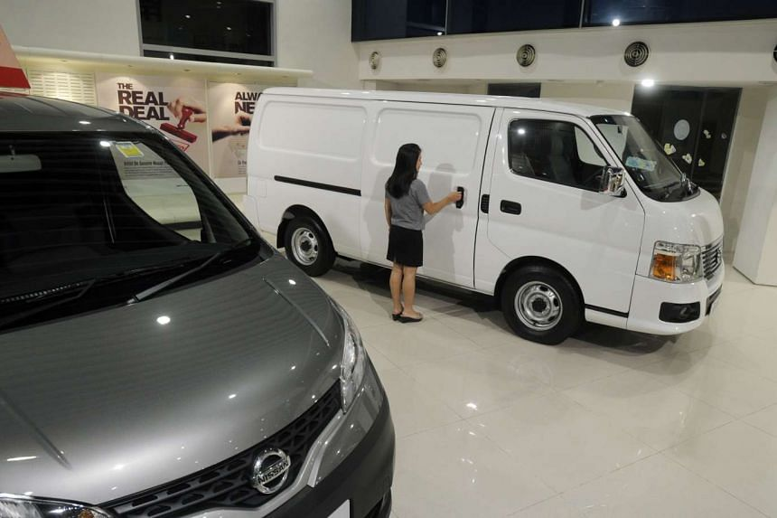 The COE price for vans, trucks and buses fell by 42.3 per cent from $45,906 to close at $26,501.