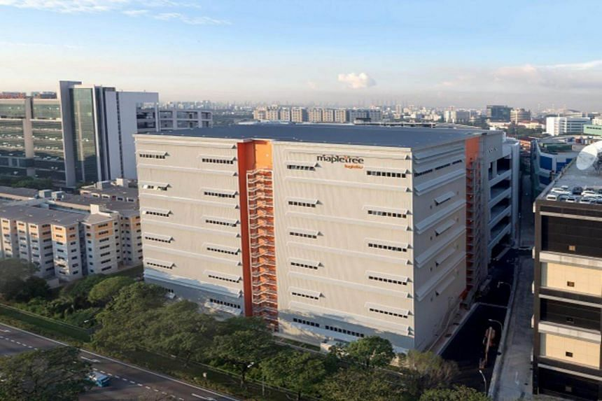 View of Mapletree Logistics Hub, located at Toh Guan Road in Jurong East.