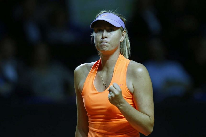Sharapova was banned for two years after testing positive at the 2016 Australian Open for meldonium.