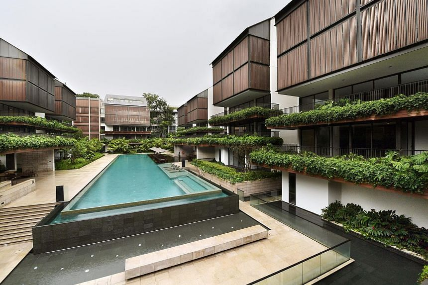 All 45 unsold units at the upmarket The Nassim condo were bought by United Overseas Bank chairman emeritus Wee Cho Yaw for $411.6 million in January. Developer CapitaLand avoided having to pay Qualifying Certificate penalties that would have hit $9.3