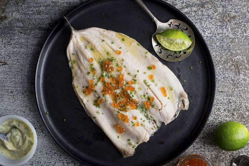 Top the grilled trout with salmon roe and the dish is elegant enough for a dinner party. PHOTO: NYTIMES