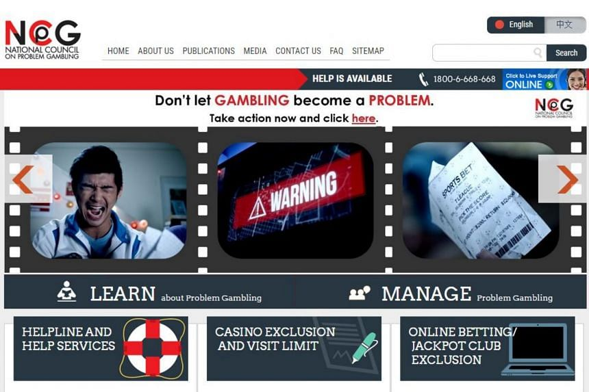 The National Council on Problem Gambling has a self-exclusion scheme.