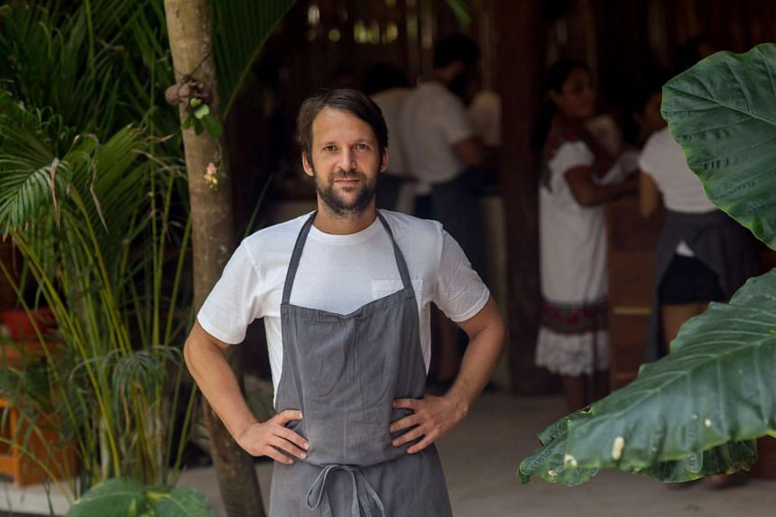 Chef Rene Redzepi brought his staff to Mexico after pop-ups in Australia and Japan. PHOTO: JENNIFER CHASE FOR WASHINGTON POST