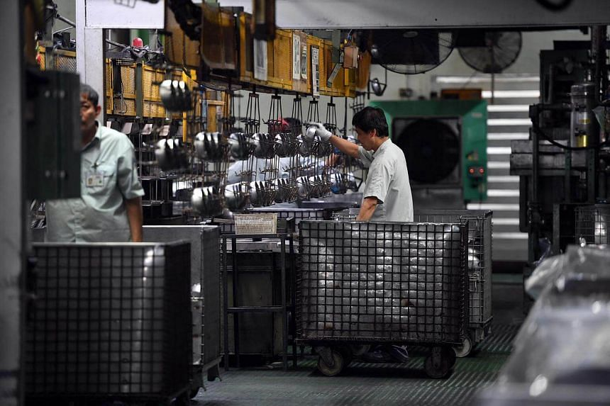 Factory output jumped 10.2 per cent in March over the same month last year.