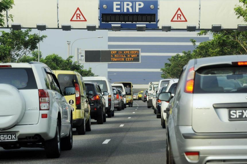 The $2 ERP rates for the KPE gantry will apply between 7am and 9.30am on weekdays.