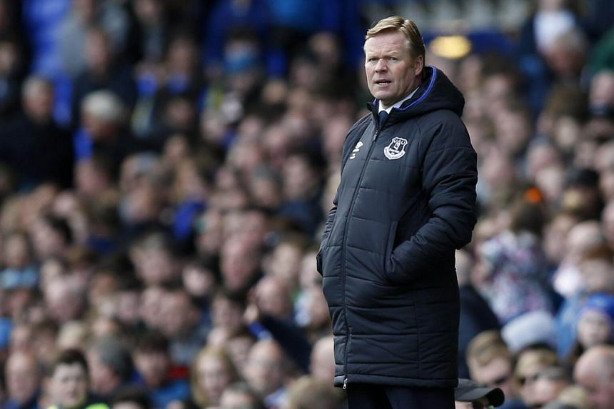 """""""We have good momentum at home right now, the team is confident, we are playing aggressively with a good press, good tempo and good quality,"""" said Everton manager Ronald Koeman."""