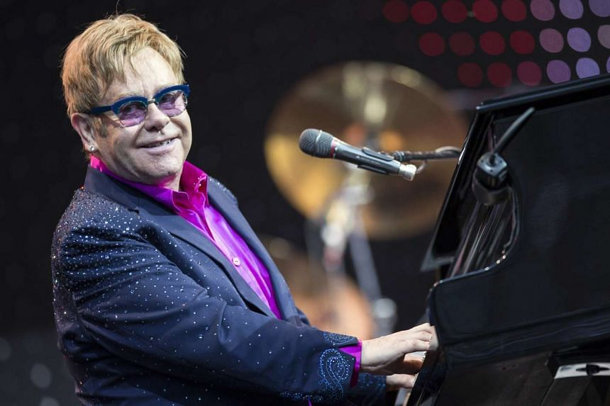 Syed considered targets such as a concert by Elton John (above) in London's Hyde Park in 2016.