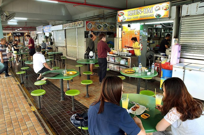 Some Beauty World hawkers said the food centre's management had told them that the centre was to continue operating and they were invited to return to resume business.