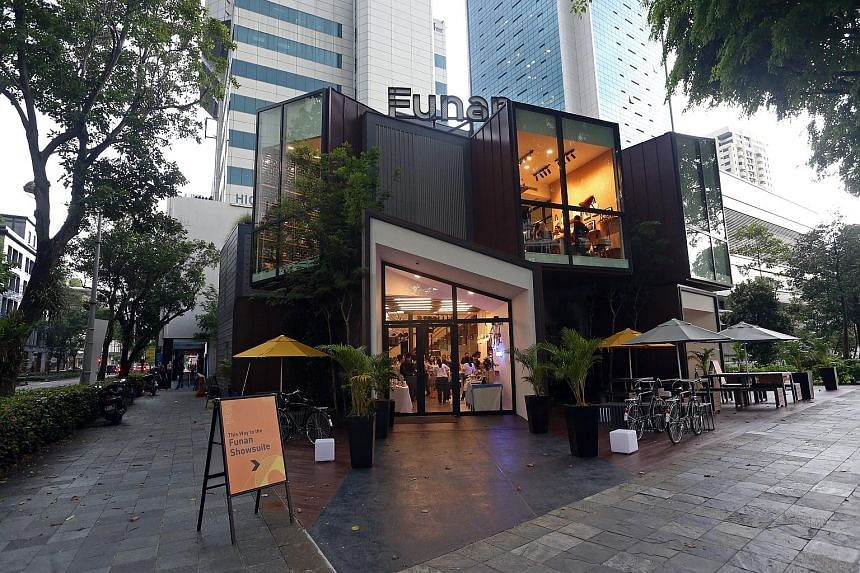 Funan's retail show suite will open this weekend at the junction of Hill and High streets. It will host programmes such as leathercraft workshops for the public.