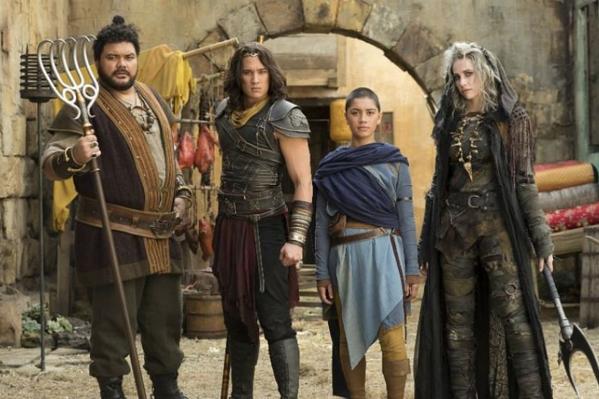 None of the cast for Netflix's 2018 Australia-New Zealand remake of classic Chinese tale Journey To The West are Chinese.