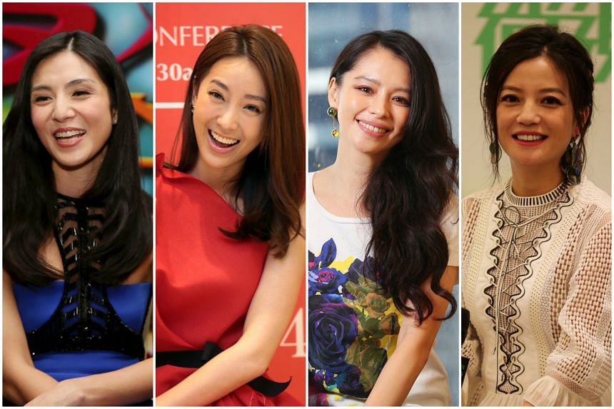 (From left) Charlie Young, Sonia Sui, Vivian Hsu and Vicki Zhao.