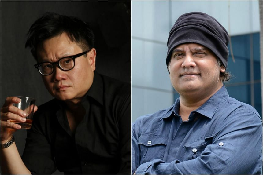 Fifteen film-makers have signed on for the project including established players Eric Khoo (left), and K. Rajagopal (right).