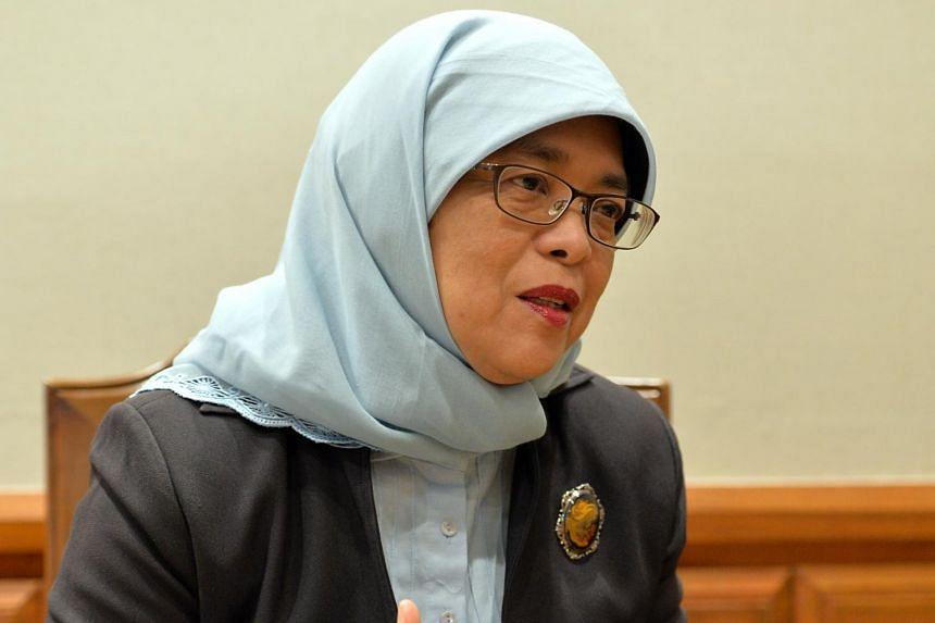 Madam Halimah Yacob made a speech to Mexico's Senate on Wednesday (April 26).