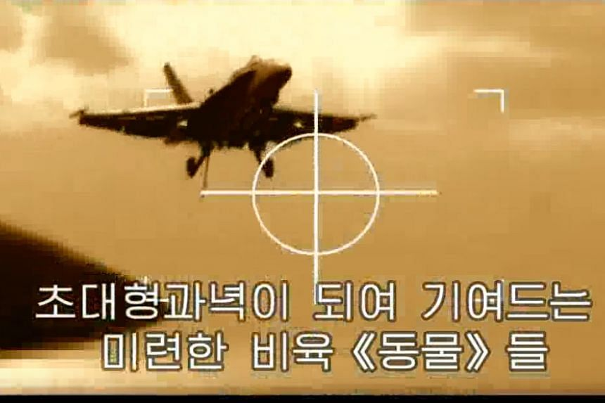 The video comes at a particularly tense time in relations between North Korea and the United States.