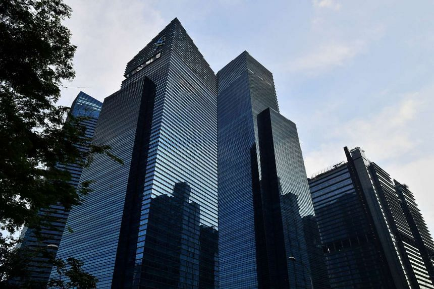 Prices of office space fell by 4 per cent in the first quarter.