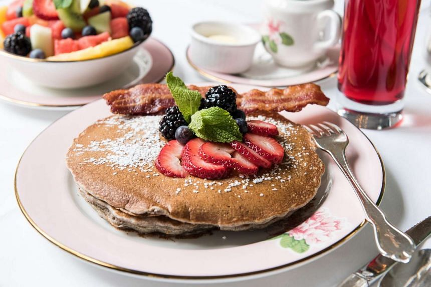 Measure ingredients and separate eggs for the fluffiest pancakes. PHOTO: DIXIE D. VEREEN FOR THE WASHINGTON POST