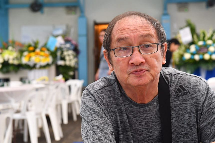 """I can't drive any more, because if I look at a car, it'll remind me of what happened,"" said Mr Quek Chin Ling."
